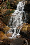 Small waterfall. The small waterfall photo shoot in Changbai mountain,northeast of China Stock Images