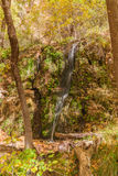 Small Waterfall in Autumn Stock Photos