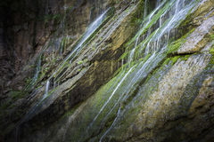 Small waterfall in the bavarian alps Stock Photos