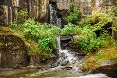Small waterfall Stock Photography