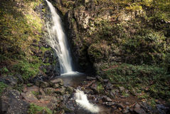 Small waterfall in black forest, Germany Stock Photo