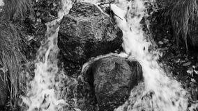 Small waterfall stock footage