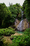 Small waterfall, Bohol Island, Philippines Royalty Free Stock Photography