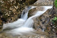 Small waterfall Stock Photo