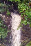 Small Waterfall Created By Water Runoff After A Rain Royalty Free Stock Image