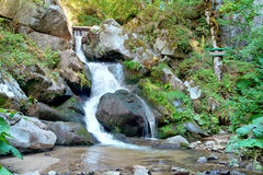 Small waterfall Stock Images