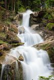 Small waterfall in Flums Royalty Free Stock Photo