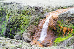 Small waterfall in Iceland Stock Photography