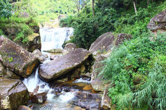 The small waterfall Stock Images