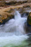 Small Waterfall in kavkaz mountains, Kislovodsk Royalty Free Stock Image