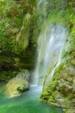 Small waterfall. In kithira island Stock Photo