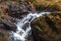 Small waterfall Royalty Free Stock Images