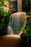 Small waterfall. In middle of the forest Stock Photography