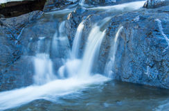 Small waterfall Royalty Free Stock Photo