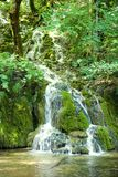 Small waterfall in the Plitvice national park Stock Photo