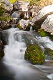 Small waterfall in Retezat Mountains. Royalty Free Stock Photos