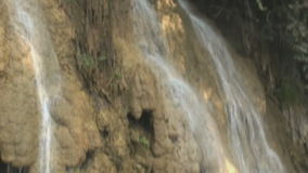 Small waterfall stock video