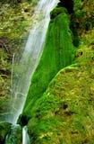 Small waterfall among rocks Stock Photography