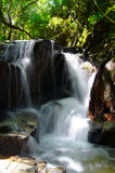 The small waterfall and rocks. Thailand Stock Photography