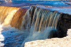 Small waterfall Royalty Free Stock Photo