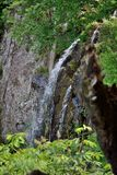 Small Waterfall. A small waterfall in Shenandoah National Park Stock Image