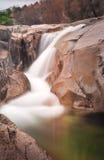 Small waterfall in SIerra de Guadarrama National Park II Stock Photos