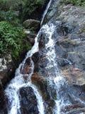 Small waterfall in sri lanka royalty free stock photo