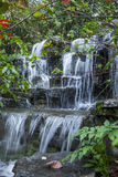 Small waterfall stream   Royalty Free Stock Images
