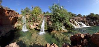 Small waterfall in tavira - algarve, portugal Stock Photo