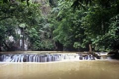 Small Waterfall, Thailand Royalty Free Stock Photography