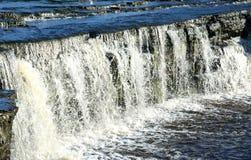 Small waterfall. Stock Photos