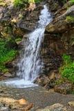 Small waterfall in Val di Pejo Royalty Free Stock Image