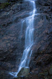 Small waterfall. In valpelline during autumn Stock Image