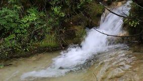 Small waterfall video stock video