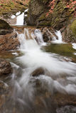 Small waterfall in winter Stock Photography