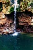 Small waterfalls stock photography