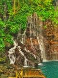 Small waterfalls. royalty free stock image