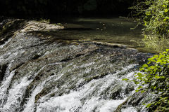 Small waterfalls Royalty Free Stock Image