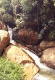 A small waterfalls Royalty Free Stock Photo