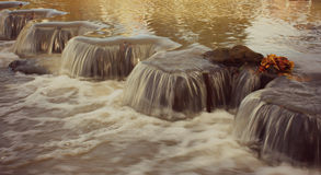 Small Waterfalls in a river Royalty Free Stock Photography