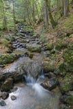 Waterfalls on the Ruisseau de La Gafe Royalty Free Stock Photography