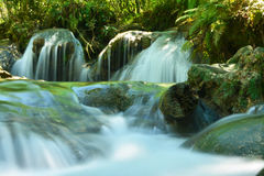 Small waterfalls Stock Photography