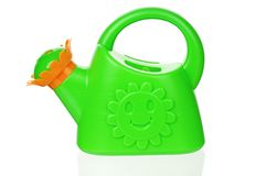 Small watering can royalty free stock image