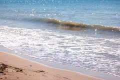 Small wave on the shore. Royalty Free Stock Photography