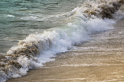 Small waves. Royalty Free Stock Photography