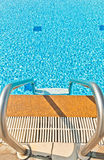 Small waves in the pool Royalty Free Stock Photography