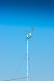 Small weather station keeping track of local conditions Royalty Free Stock Image