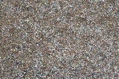 Small wet round granite gravel Royalty Free Stock Image