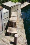 Small wharf Stock Image