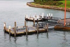 Small wharf in sydney Stock Photo